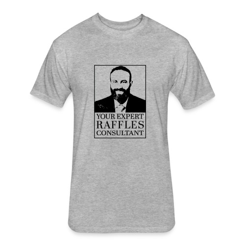 Kadirhan Raffles Expert Consultant - Fitted Cotton/Poly T-Shirt by Next Level