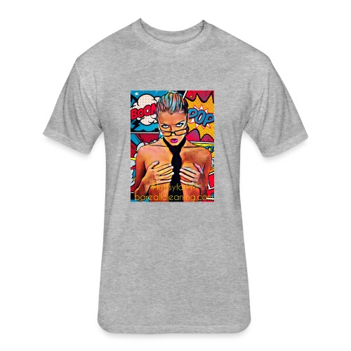Luttsy For PM - Fitted Cotton/Poly T-Shirt by Next Level