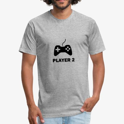 Player 2 - Fitted Cotton/Poly T-Shirt by Next Level