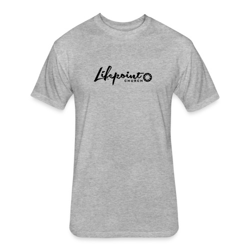 Logo Horizontal Black - Fitted Cotton/Poly T-Shirt by Next Level
