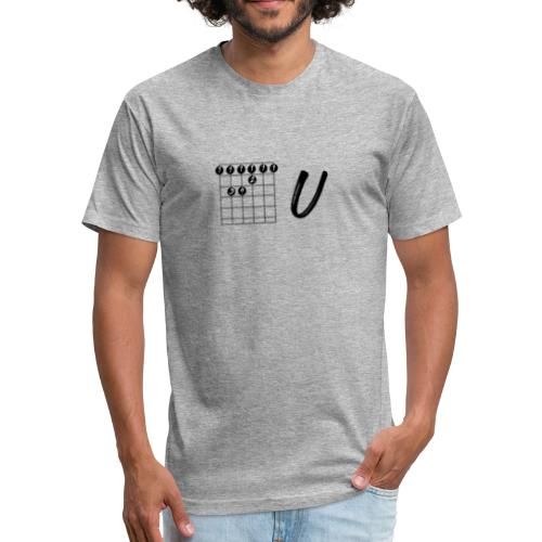 FU Dark - Fitted Cotton/Poly T-Shirt by Next Level