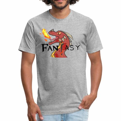 Dragon Fantasy Shirt! - Fitted Cotton/Poly T-Shirt by Next Level