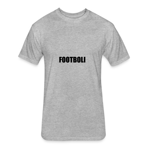 foot - Fitted Cotton/Poly T-Shirt by Next Level