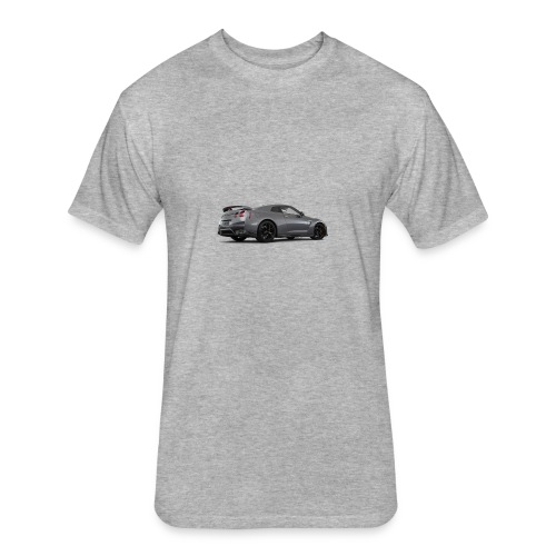 2018 nissan gt r pure - Fitted Cotton/Poly T-Shirt by Next Level
