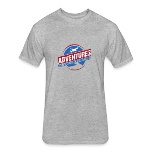 Adventures In Voluntourism - Fitted Cotton/Poly T-Shirt by Next Level