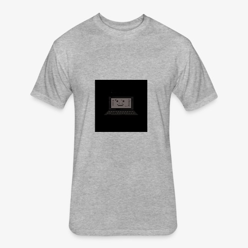 Laptop64 Lappy - Fitted Cotton/Poly T-Shirt by Next Level