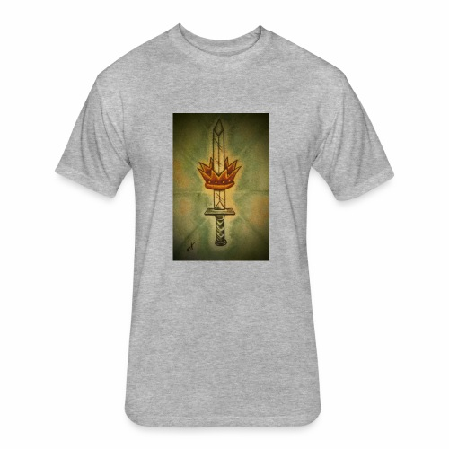 received 213912709372361 sword of life - Fitted Cotton/Poly T-Shirt by Next Level
