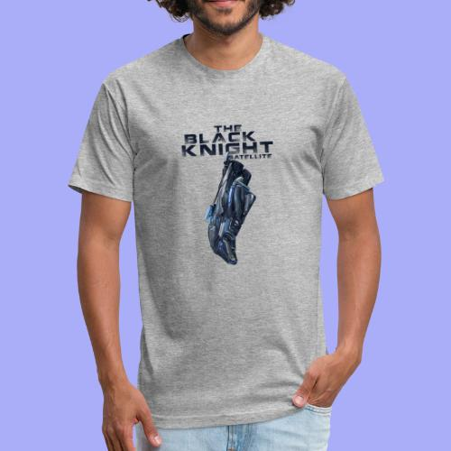 The Black Knight Satellite - Fitted Cotton/Poly T-Shirt by Next Level