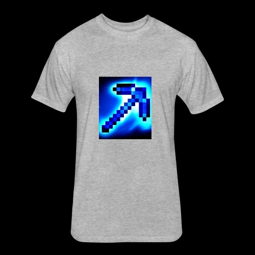 the Minecrafters - Fitted Cotton/Poly T-Shirt by Next Level