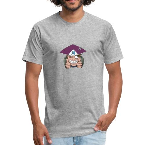 Thumbs Up! - Fitted Cotton/Poly T-Shirt by Next Level