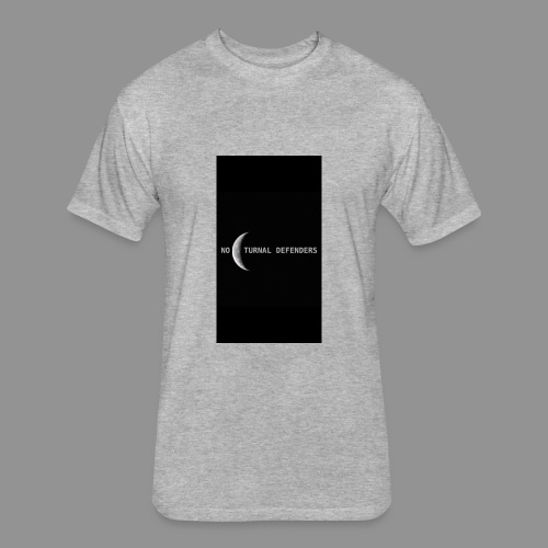 Basic ND Design - Fitted Cotton/Poly T-Shirt by Next Level