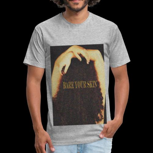 Bare Your Skin Color - Fitted Cotton/Poly T-Shirt by Next Level
