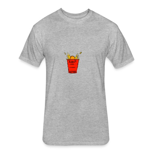 Beer pong - Fitted Cotton/Poly T-Shirt by Next Level