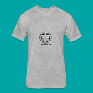 Sacred Geometry - Fitted Cotton/Poly T-Shirt by Next Level