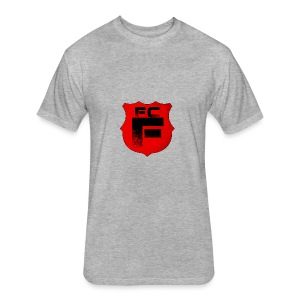 Fc Flamur - Fitted Cotton/Poly T-Shirt by Next Level