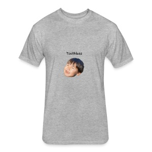 Toothless - Fitted Cotton/Poly T-Shirt by Next Level