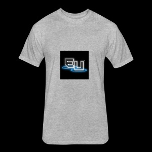 Ethereal Universe - Fitted Cotton/Poly T-Shirt by Next Level