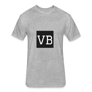 Standard VB - Fitted Cotton/Poly T-Shirt by Next Level