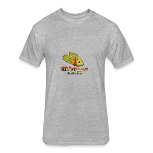 Pyro Trimac Cichlid Apparel - Fitted Cotton/Poly T-Shirt by Next Level