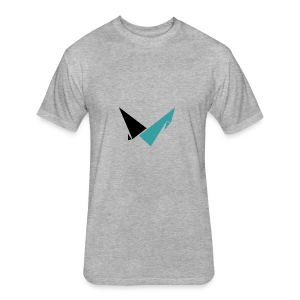 Vulcan Logo - Fitted Cotton/Poly T-Shirt by Next Level