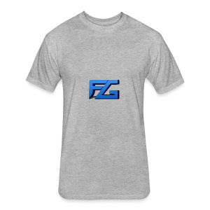 Freeze Gaming Logo - Fitted Cotton/Poly T-Shirt by Next Level