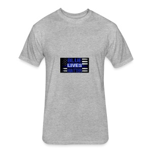 blue-lives-matter-membership-1-1024x538 - Fitted Cotton/Poly T-Shirt by Next Level