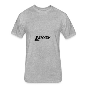 LOGOTEXT_A_Lailien - Fitted Cotton/Poly T-Shirt by Next Level