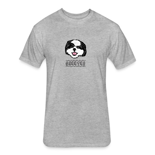 Skeeter Wire - Fitted Cotton/Poly T-Shirt by Next Level