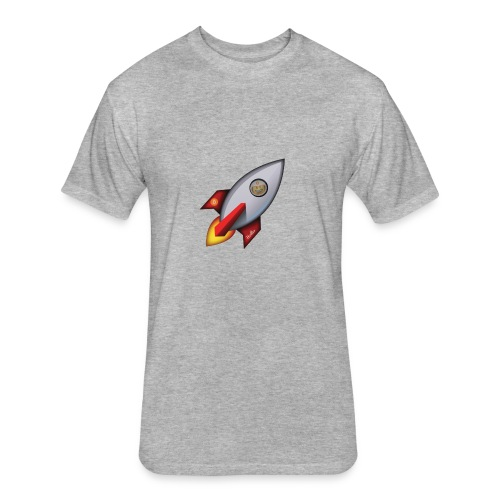 Bit for Buck: Hodler Rocket Coffee Mug - Fitted Cotton/Poly T-Shirt by Next Level