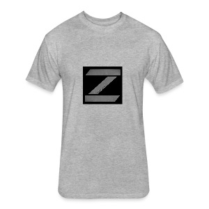 zoniczhd - Fitted Cotton/Poly T-Shirt by Next Level