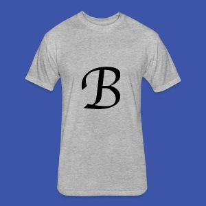 B - Fitted Cotton/Poly T-Shirt by Next Level