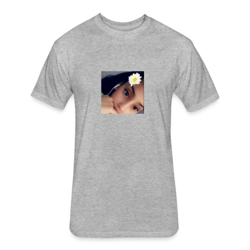 BFF - Fitted Cotton/Poly T-Shirt by Next Level