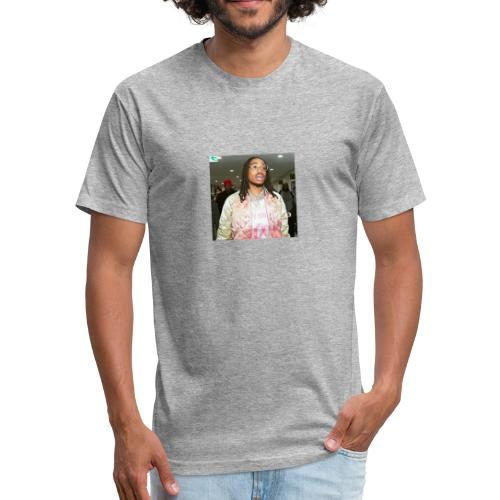 quavo - Fitted Cotton/Poly T-Shirt by Next Level