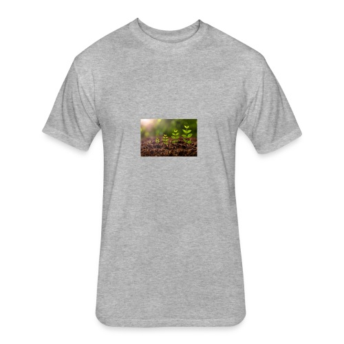 510222832 612x612 - Fitted Cotton/Poly T-Shirt by Next Level