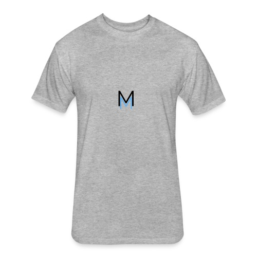 Makyim Symbol White - Fitted Cotton/Poly T-Shirt by Next Level