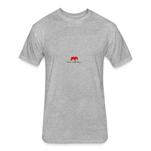 LogoMakr 2KPqAR - Fitted Cotton/Poly T-Shirt by Next Level