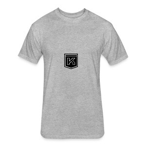 KODAK LOGO - Fitted Cotton/Poly T-Shirt by Next Level