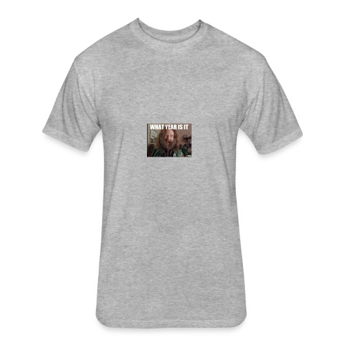 AAAAAAAAAA - Fitted Cotton/Poly T-Shirt by Next Level