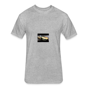 Ima_Gold_Digger - Fitted Cotton/Poly T-Shirt by Next Level
