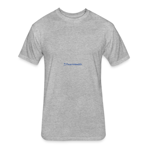 1TeamHealth Simple - Fitted Cotton/Poly T-Shirt by Next Level