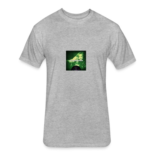 Frankenstein Monster - Fitted Cotton/Poly T-Shirt by Next Level