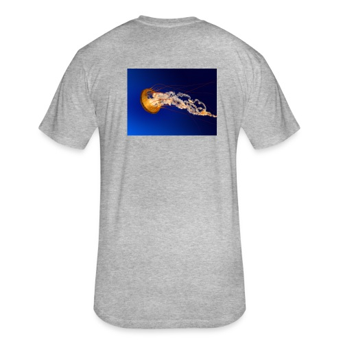 Jellyfish - Fitted Cotton/Poly T-Shirt by Next Level