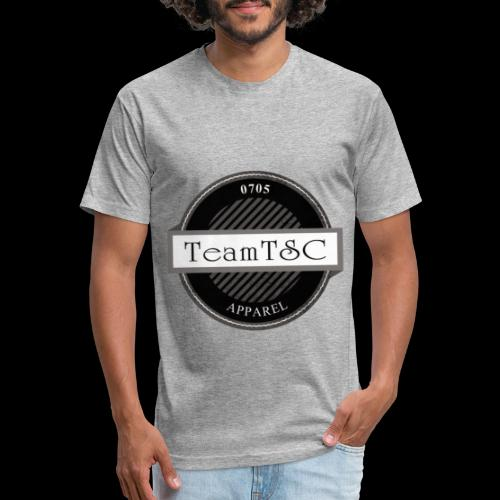 TeamTSC Badge - Fitted Cotton/Poly T-Shirt by Next Level