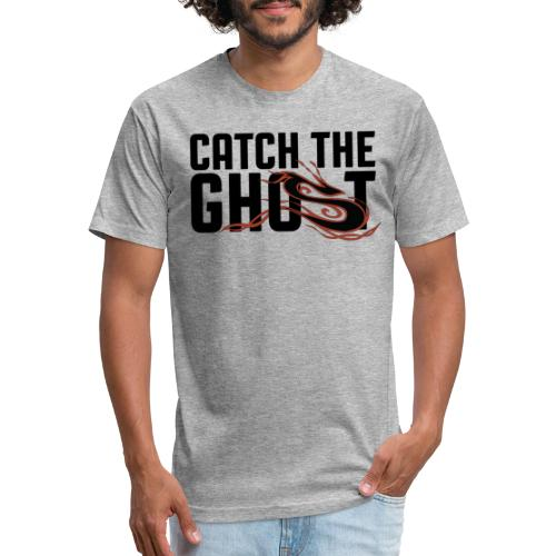 Catch The Ghost - Red Shifter - Fitted Cotton/Poly T-Shirt by Next Level
