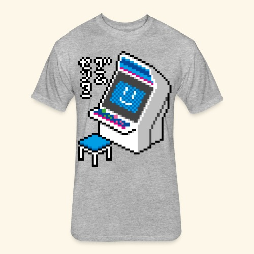 Pixelcandy_BC - Fitted Cotton/Poly T-Shirt by Next Level
