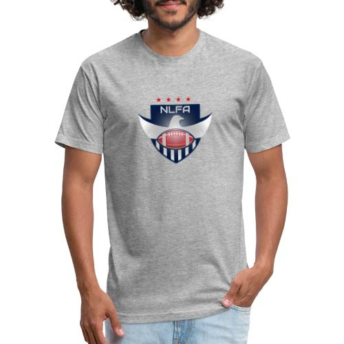 NLFA Logo - Fitted Cotton/Poly T-Shirt by Next Level