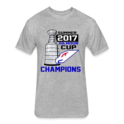 Intangibles Summer 17 Gilmour Cup Champs T-Shirt - Fitted Cotton/Poly T-Shirt by Next Level