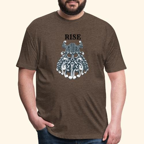 RISE CELTIC WARRIOR - Fitted Cotton/Poly T-Shirt by Next Level