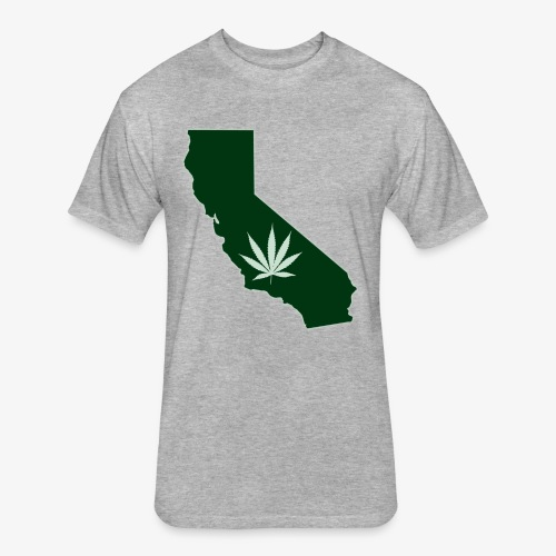 weed - Fitted Cotton/Poly T-Shirt by Next Level