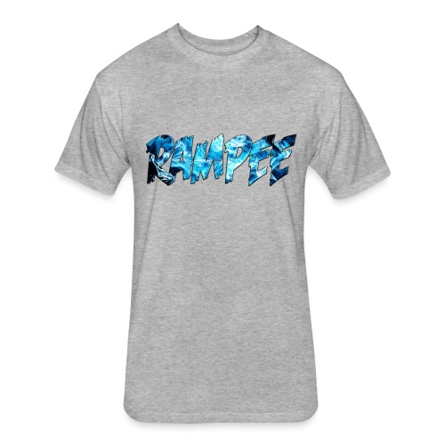 Blue Ice - Fitted Cotton/Poly T-Shirt by Next Level